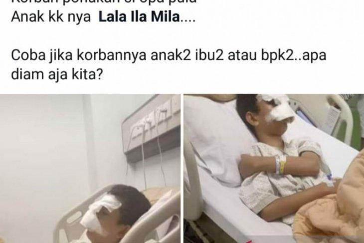 Pelajar SMP di Pekanbaru jadi korban perundungan hingga terkapar di rumah sakit