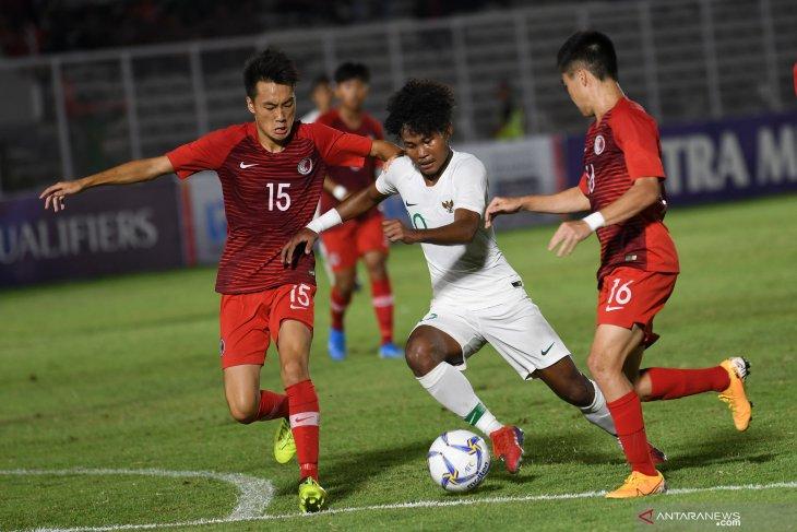 Timnas Indonesia pimpin klasemen dan 'top scorer' Grup K