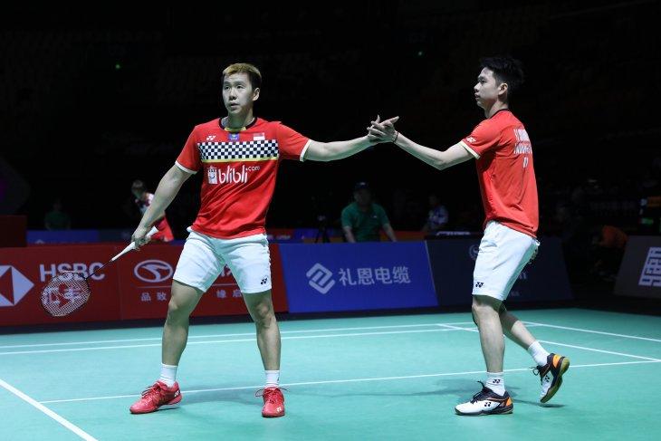 Minions jumpa Rankireddy/Shetty di semifinal Fuzhou China Open