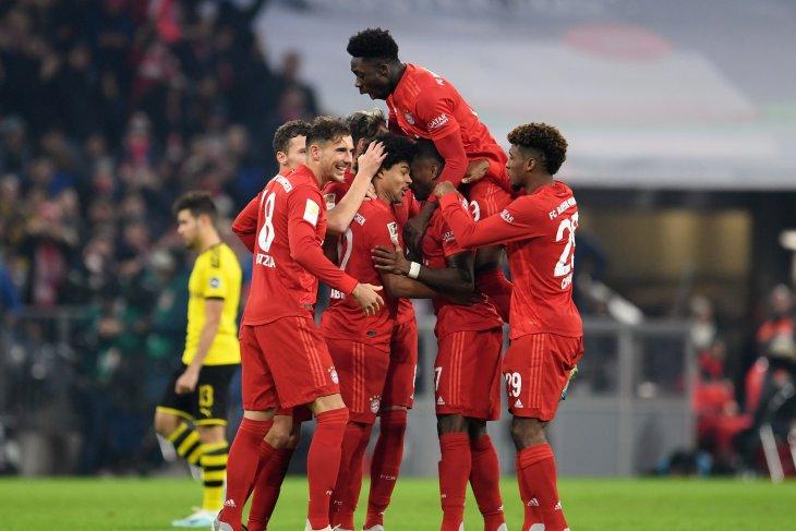 Bayern hajar Dortmund empat gol tanpa balas pada Der Klassiker