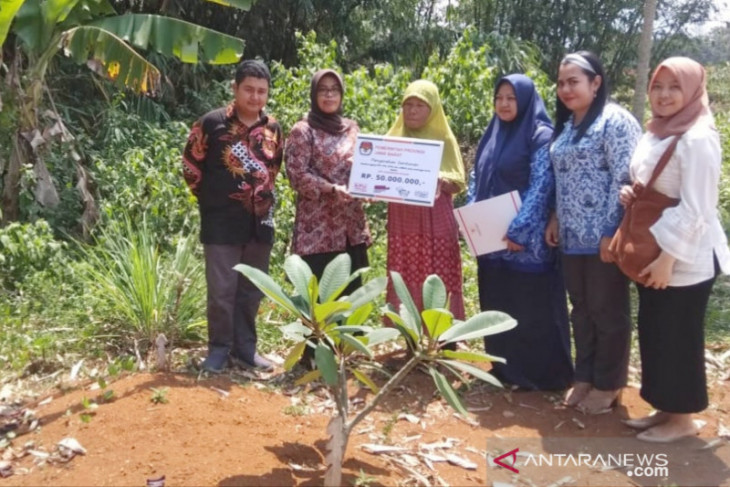 KPU Kabupaten Bogor santuni keluarga petugas pemilu 2019 meninggal dunia