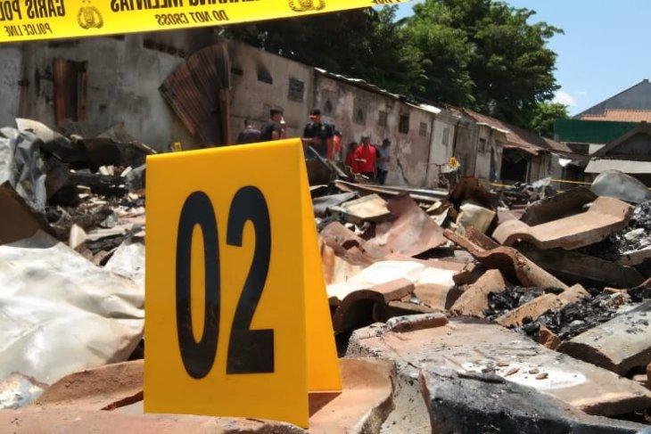 Kebakaran Pasar Ngunut Tulungagung, tim Labfor Polri temukan titik sumber api