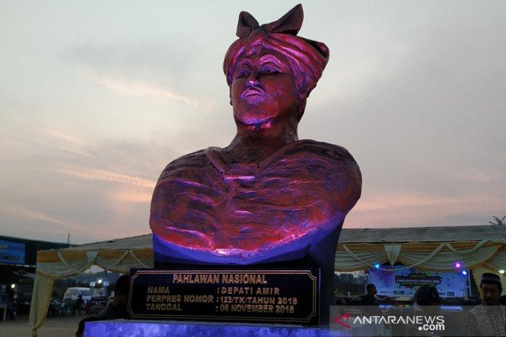 Monumen Depati Amir jadi momentum milenial mengenal pahlawan nasional