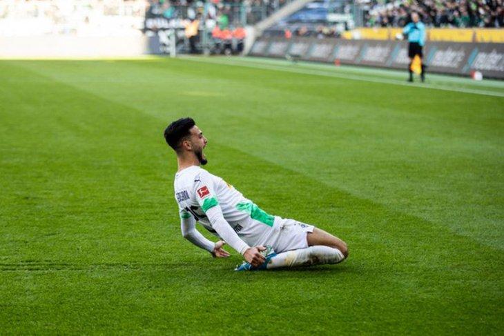 Hasil Liga Jerman: Gladbach rebut kembali puncak klasemen