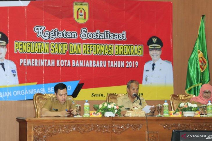 Pemkot Banjarbaru Sosialisasi Penguatan SAKIP