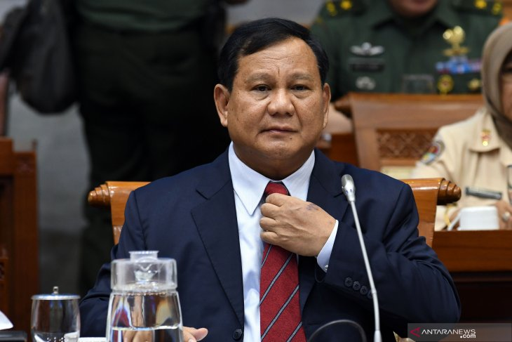 Minister Prabowo upbeat about Indonesia having strong defense industry