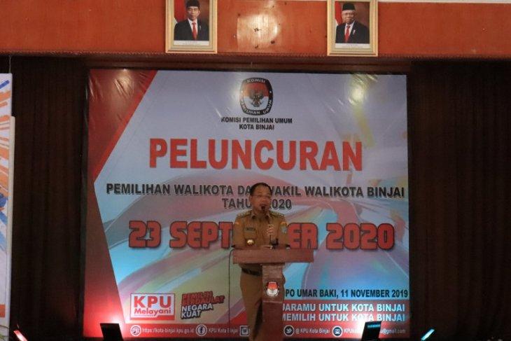 KPU Kota Binjai luncurkan tahapan pilkada 2020