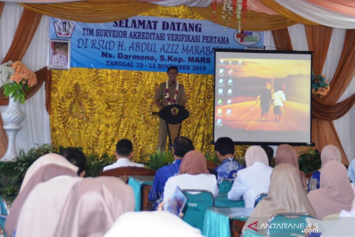 KARS survei RSUD H Abdul Aziz