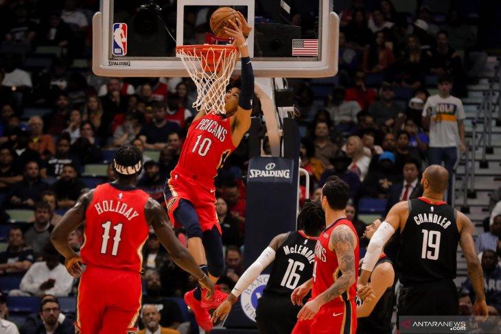 Pelicans akhiri tujuh kemenangan b