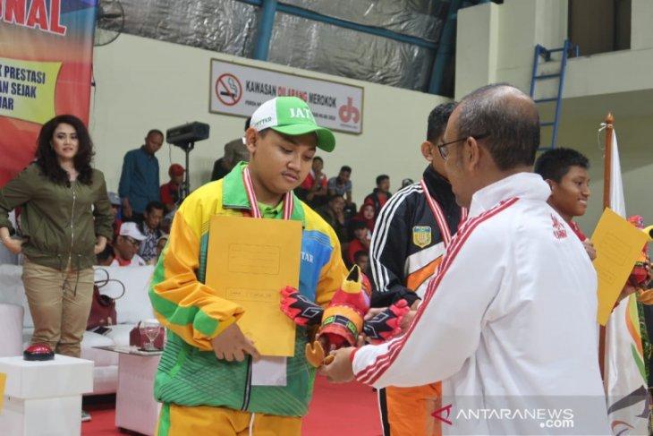 Kontingen Jawa Timur juara umum Peparpenas 2019