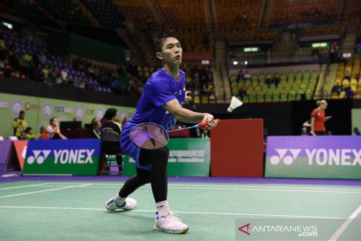 Jonatan Christie tembus semifinal Hong Kong Open 2019