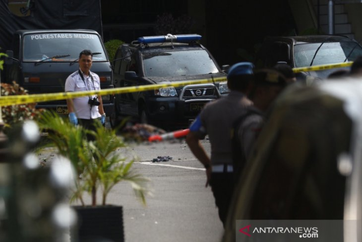 Police probe identity of alleged suicide bomber in Medan
