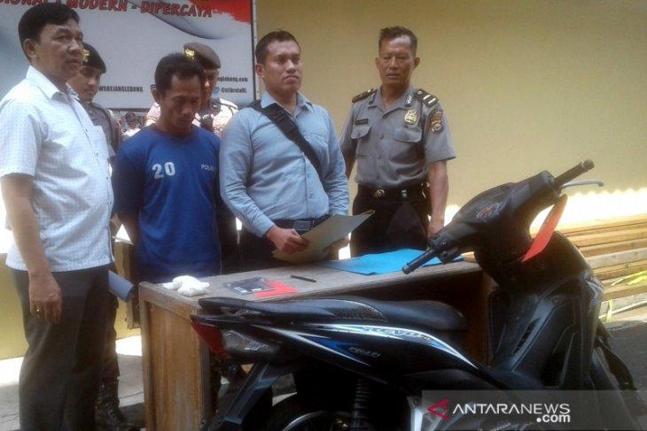 Terdesak biaya pengobatan anak, seorang buruh di Rejang Lebong nekat mencuri motor