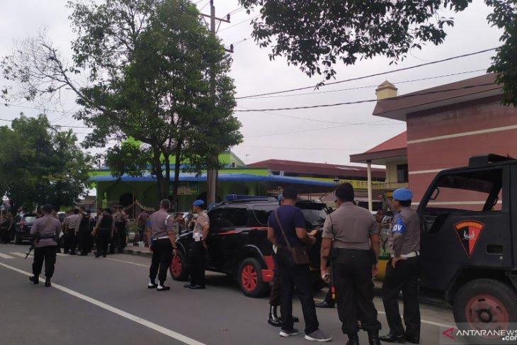 Ini keterangan saksi ledakan bom bunuh diri di Polrestabes Medan