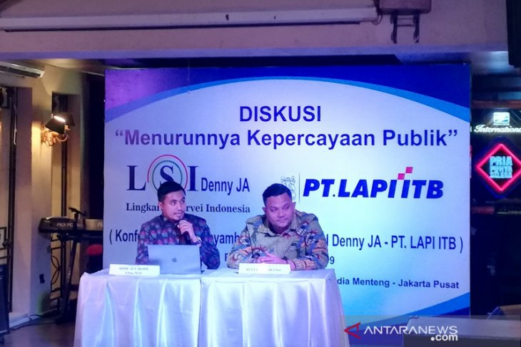 Public trust in government institutions declined: LIPI