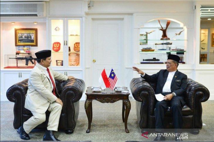 Menhan optimistis kerja sama Indonesia-Malaysia makin baik