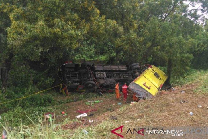 Seven dead in bus collision on Cipali toll road