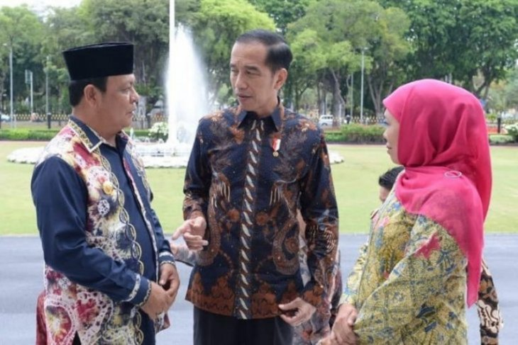 S Kalimantan Governor meets President to discuss Syamsuddin Noor Airport inauguration