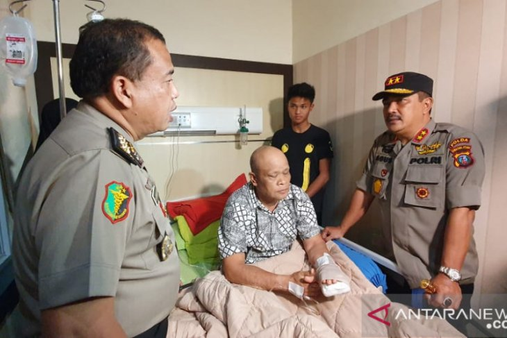 Police take 14 people into detention over Medan suicide bombing