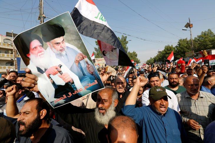 Partai Syiah Moqtada menang di Pemilu Irak