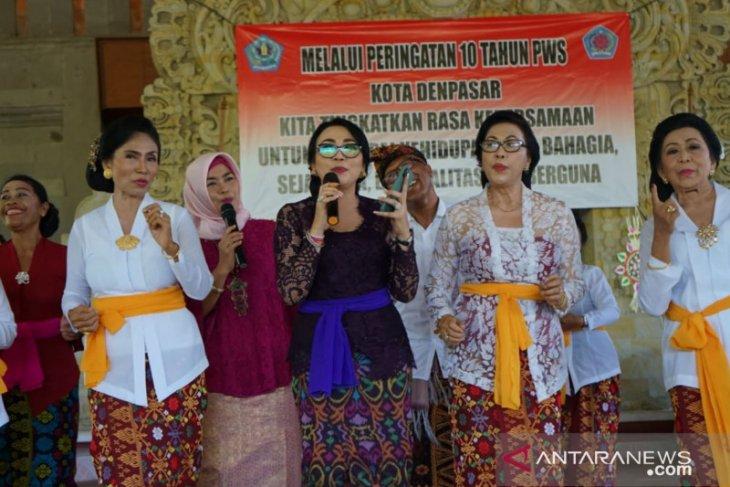 Pembina PWS Denpasar berharap lansia produktif dan bahagia