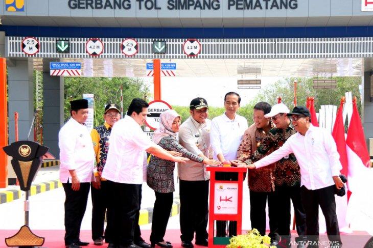 Presiden sebut Lampung-Palembang segera tersambung