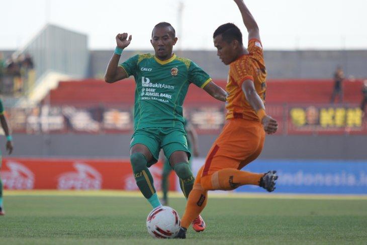 Delapan besar Liga 2: Membosankan, Persiraja vs Sriwijaya FC tanpa gol di babak pertama