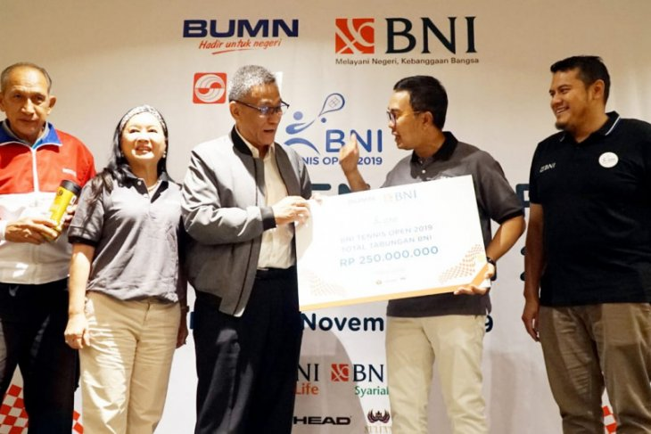 BNI Tennis Open 2019 dimulai Petenis Indonesia siap adu kemampuan