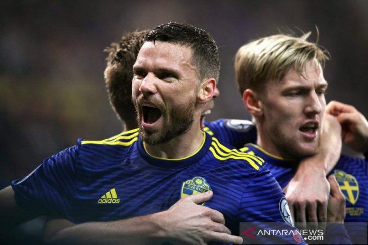 Swedia pupus impian Norwegia melaju ke putaran final Piala Eropa