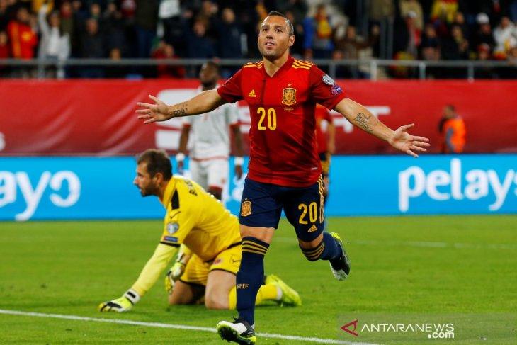 Kualifikasi Piala Eropa 2020: Spanyol gilas tim lemah Malta 7-0