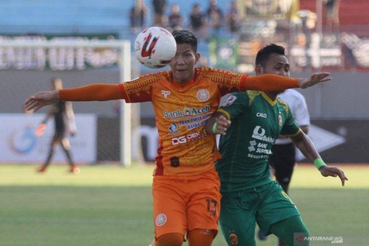 Persiraja dan Sriwijaya FC langsung fokus hadapi semifinal Liga 2