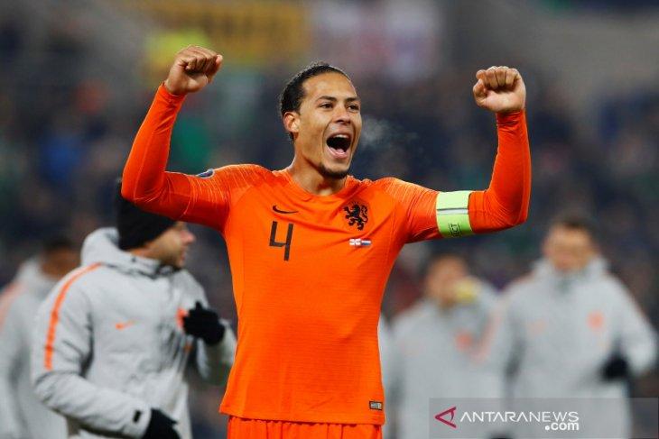 Belanda lolos final Piala Eropa 2020 walau diimbangi Irlandia Utara