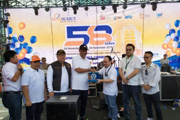 Ribuan warga semarakkan festival kuliner dan UMKM Bank Sumut