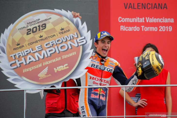 Pebalap MotoGP Marc Marquez akan jalani operasi bahu