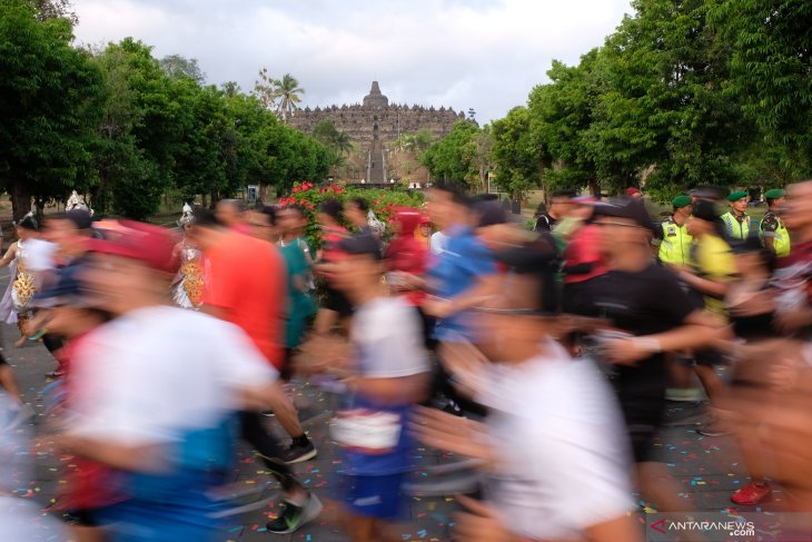 300 foreign runners join Borobudur Marathon: organizing committee