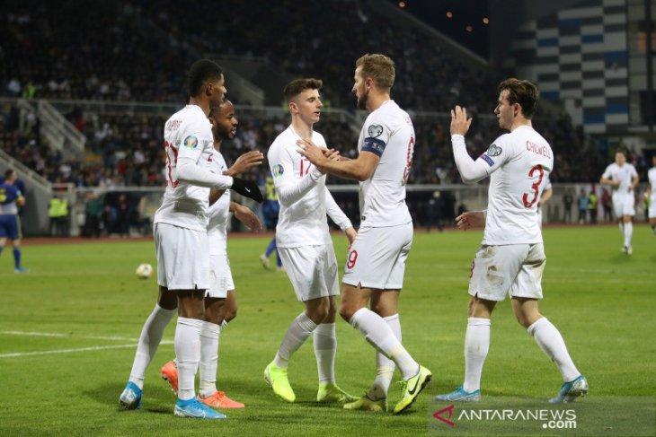Inggris t kalahkan Kosovo 4-0