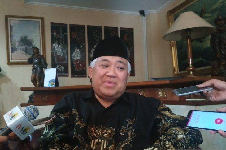 Soal Sukmawati, Din Syamsuddin sebut wajar kalau ada yang marah