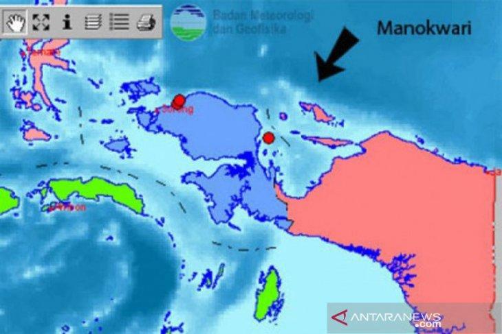 Gempa bumi magnitudo 4,4 landa Manokwari