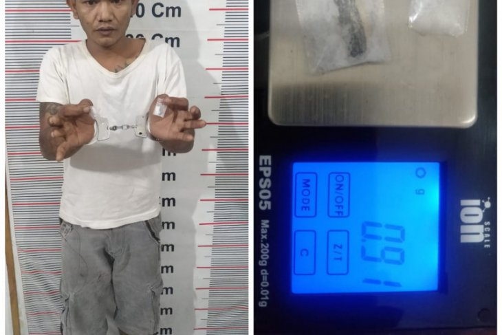 Hendak bertransaksi sabu-sabu, buruh bangunan ini ditangkap polisi di Langkat