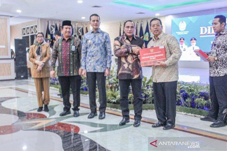 Pemkot Padangsidimpuan terima DIPA dari Pemprov Sumut