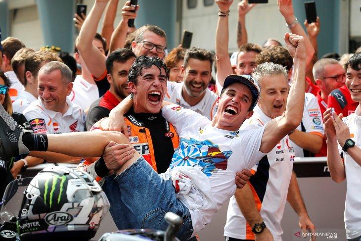 Marquez soal keputusan Honda dan sang adik di MotoGP 2020