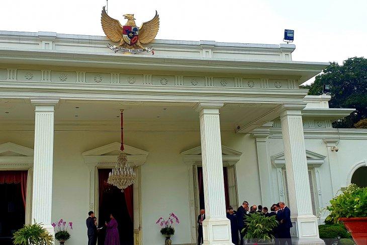 Jokowi holds veranda talk with 14 new foreign ambassadors