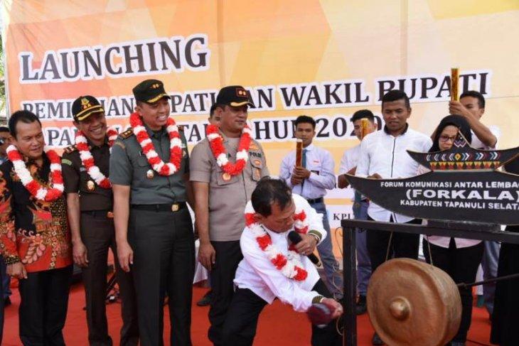 KPU Tapanuli Selatan gelar Launching Pilkada 2020