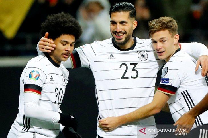 Empat tim menang telak kualifikasi Piala Eropa 2020