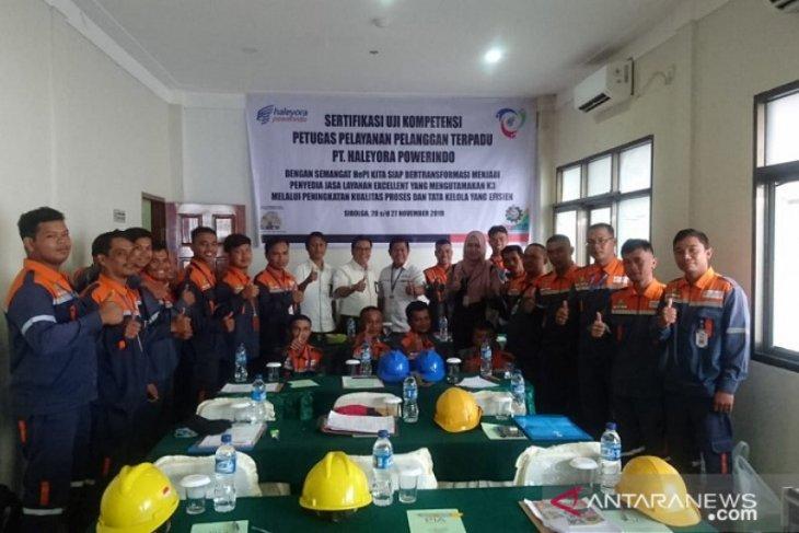 PT Haleyora Powerindo gelar sertifikasi petugas Yangandu