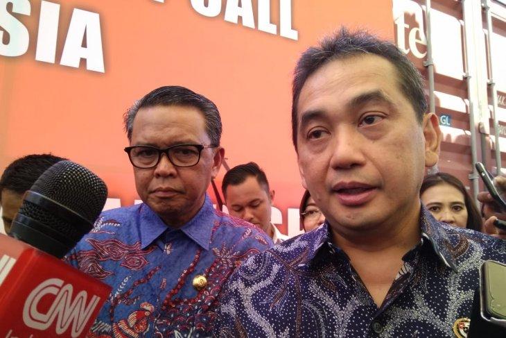 Menteri Perdagangan  Agus Suparmanto lepas 7.930 ton komoditi ekspor ke Asia