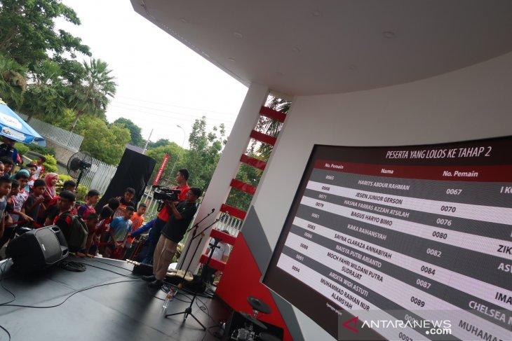Finalis audisi beasiswa bulutangkis 2019  terpangkas menjadi 71 peserta