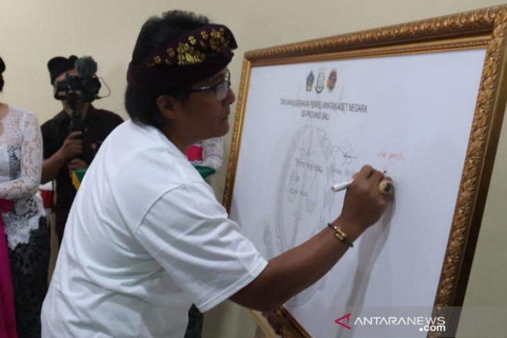 Bupati Badung ikut deklarasikan Gerakan Penyelamatan Aset Negara se-Bali