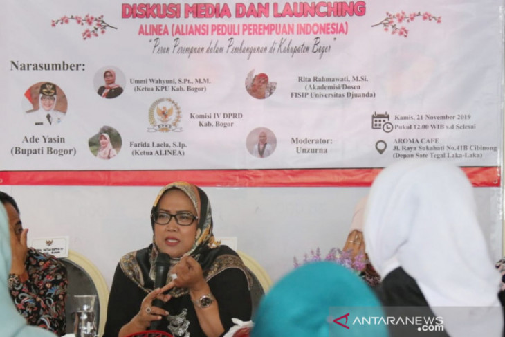 Perempuan dari berbagai profesi di Bogor bentuk organisasi Alinea