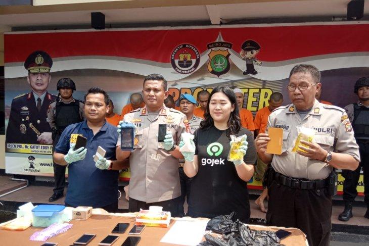 Tujun pelaku order fiktif ditangkap,  Polres Depok apresiasi sistem dan teknologi Gojek